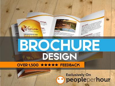 Design attractive looking postcard, flyer, banner, leaflet, brochure, menu card, etc