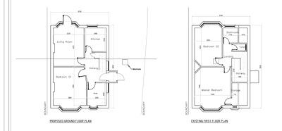 Prepare Planning plans or Building Regs for your Loft Conversion