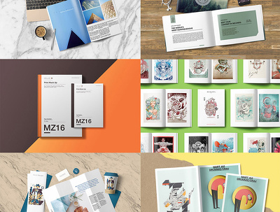 Create a 3D mockup to showcase your artwork professionally (T-shirt, brochures, ...)