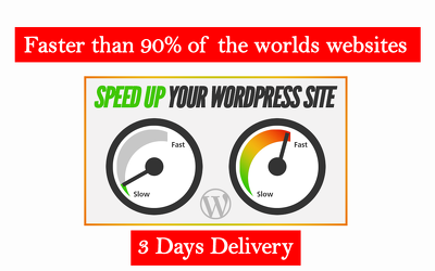 Speed up wordpress website dramatically