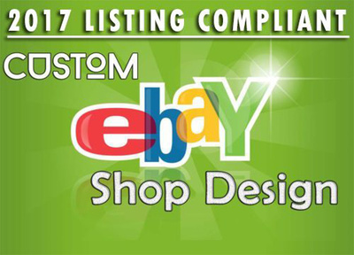 Create custom BESPOKE RESPONSIVE design for your eBay store plus free installation