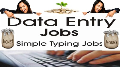 Do any kind of data entry for 2 hours