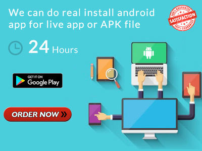 100 Installs/Downloads Your Android Apps & Get High Google Play Ranking