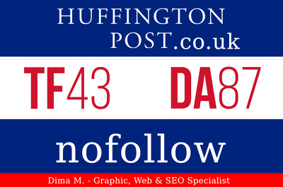Write and Publish an Article on the HuffingtonPost.co.UK  - Google indexed