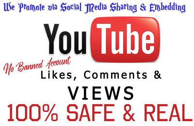 Provide 3,000 Youtube Real Views Retention 80-95%, Your Video Go Viral