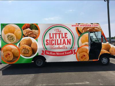 Professional car, truck or van wrap designs