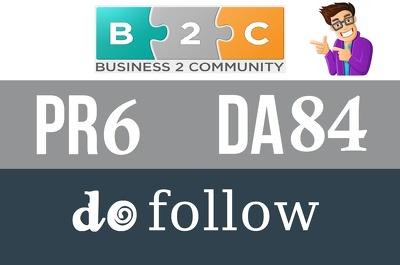 Publish guest post on Business2community.com