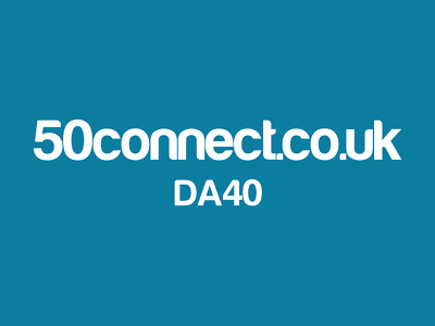 Guest post on lifestyle website 50connect.co.uk DA40