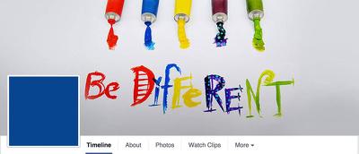 Design a unique banner or social media cover