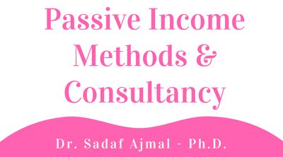 Passive income method and consultancy