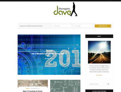 Publish Your Guest Post, Sponsored Post, or Blog Post on There Goes Dave Blog