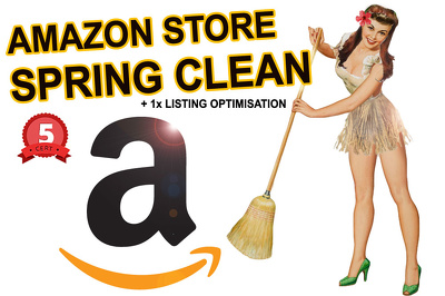 Help Improve Your Amazon Seller Central Store & Listings Plus a Free Optimisation
