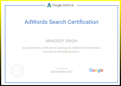 Offer PPC Management From Google AdWords Certified Professional