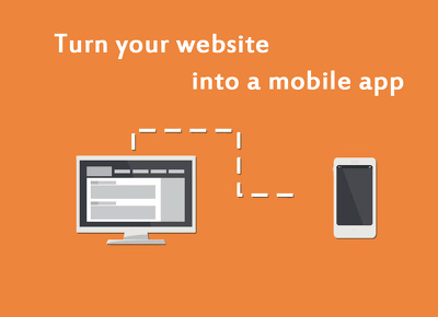 Convert your website into iOS or Android app