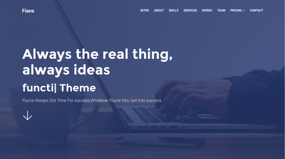 Design your business landing page
