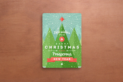 Design custom christmas greetings card, flyer, brochure (unlimited revision)