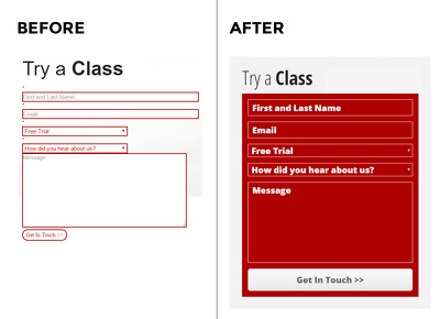 Revamp your website contact form