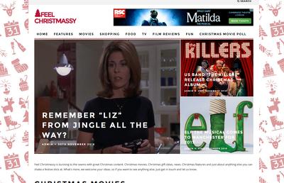Publish sponsored blog post on popular Christmas website