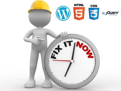Get Fixed Any HTML/ CSS/ Jquery/Responsive issues within 24 hours [Express Delivery]]