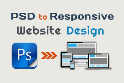 Convert PSD to responsive HTML/CSS