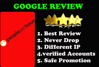 Post 10 amazing Google 5 Star Review boost your ranking