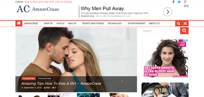 Publish a guest post on the amazecraze.com- do follow and Google indexed
