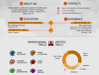 Design Infographic Resume