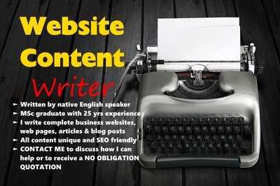 Write 400 words of SEO friendly website content