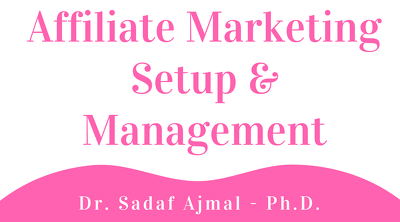 Offer Affiliate Marketing Setup & Management