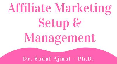 Offer Affiliate Marketing Setup & Management