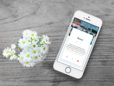 Design beautiful mobile app mockups