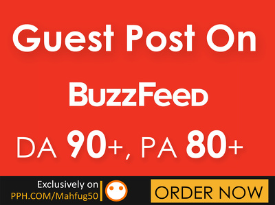 Publish your Guest post on buzzfeed