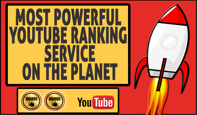 Youtube ranking - most powerful youtube & google ranking service on the planet