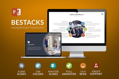 Deliver Bestacks Powerpoint Template