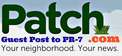 Write and Guest Post in Patch.com (Delivery 3 days) PR 7 DA 83 with Dofollow Backlink
