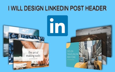 Design LinkedIn Post Header