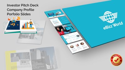 Design your company's profile / investor pitch deck