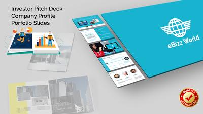 Design your company's profile / investor pitch deck