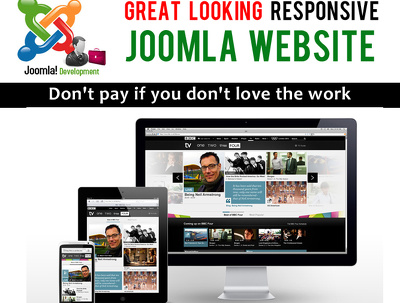 Create a professional Joomla website