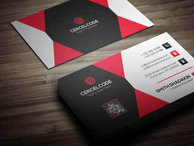 Design your Double sided Corporate business card with unlimited revisions