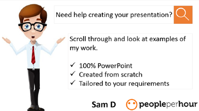 Design a high quality PowerPoint presentation
