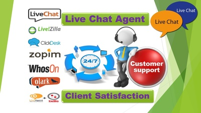 live Chat Agent for customer service