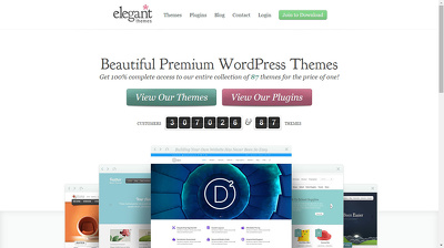 Give newest elegant themes and LIFETIME updater for wordpres