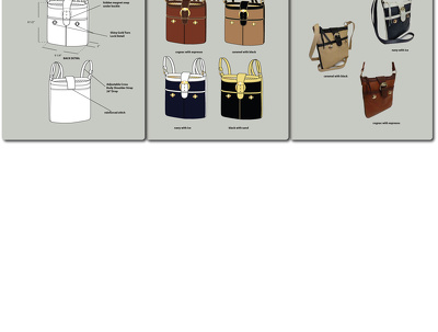 Design on trend bags