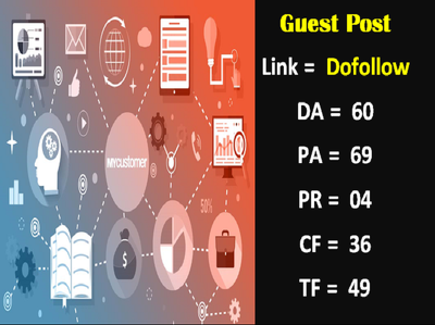Guest post on Mycustomer.com with dofollow authority Backlink at cheap price