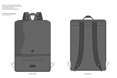 Convert your ideas into tech-packs (CAD) for fashion and accessory design products.