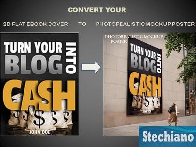 Photorealistic Mockups (Outdoor Billboard Mockup In Many Formats, MacBook, etc.