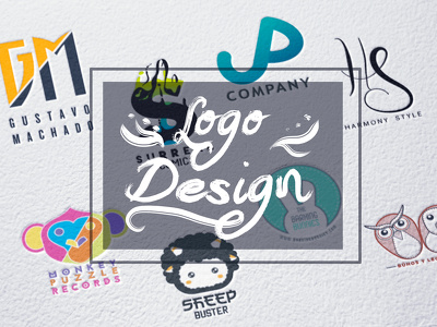 Design professional logo witch 3 initial concept + unilimited revisions