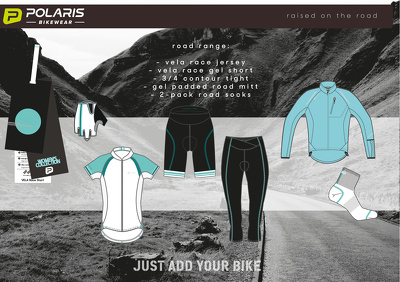 Design cycling wear (Road or MTB)