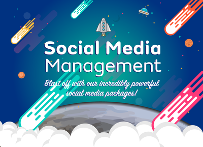 Manage your Social Media pages: Choose from Twitter,Facebook & Instagram.